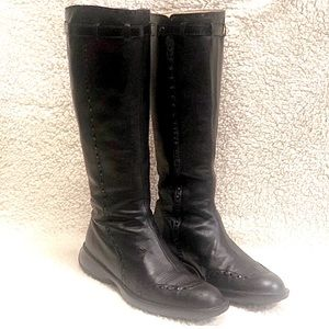 Tod's Tall Leather Boots 38/8